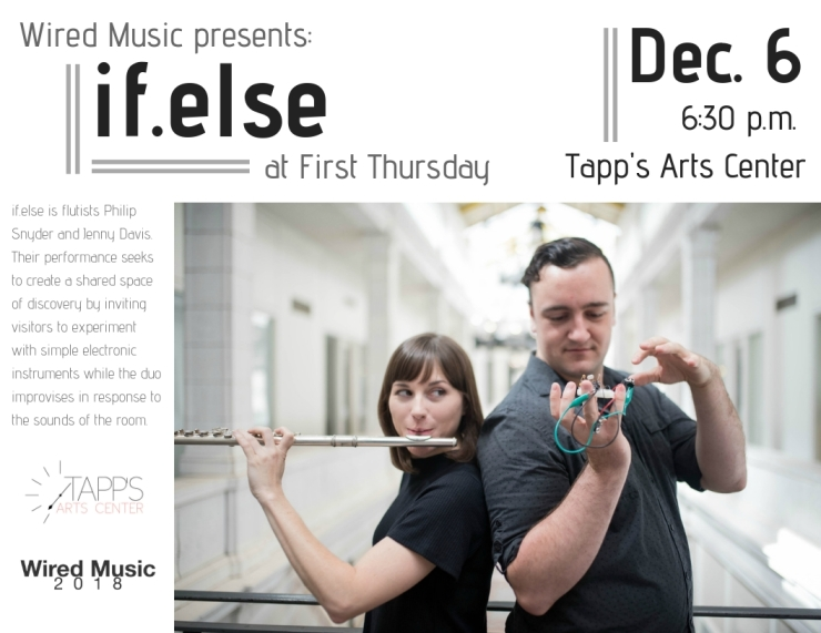 at First Thursday, Tapp's Arts Center (1)